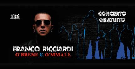Franco Ricciardi concluderà la XXXIX edizione del FiordilatteFiordifesta ad Agerola
